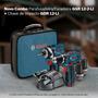 Kit 2 Maquinas Paraf. Impacto/furad. Bosch 12v - 127v
