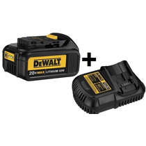 Bateria 20v 3 Ah Litio + Carregador 12-20v 3ah Dewalt 220v
