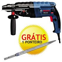 Martelete Perfurador Rompedor Gbh 2-24d + Maleta 220v Bosch