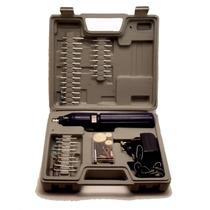 Mini Retifica R-60 S/ Fio E Bi-volt 60 Acessorios + Maleta