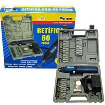 60 Peças Micro Retifica Western - Micro Retifica 220v Mine