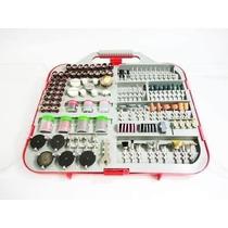 Kit Acessórios Micro E Mini Retifica Com 250 Peças 670715