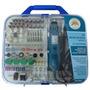 Kit Micro Retifica Completa 161acessorios +chicote +maleta