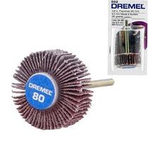Dremel Disco Lixa Gr 80 - 9,5mm 502