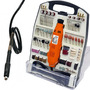Micro Retifica 234 Peças 135 Watts Eixo Flexível Sagyma 110v