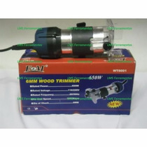 Tupia Fresa Manual 6mm 650 Watts - 32.000 Rpm - 110 V