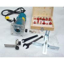 Tupia Manual+12 Fresas-kit Completo - 110 Ou 220 Volts-novas