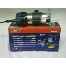 Tupia Fresa Manual 6mm 650 Watts - 110 V