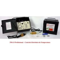 Pirógrafo Pm-13 Profissional Controle Eletr. De Temperatura