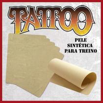 Kit Com 5 Peles Tattoo Sintéticas Para Treino De Tatugem