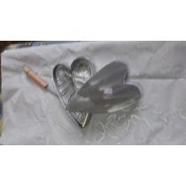 Frizadores E Golfadores Aluminio Folha Lirio Da Paz Grande