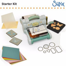 Nova Big Shot Machine Started Kit - Sizzix - Verde