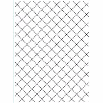 Embossing Folder Wire Fence Autorelevo Compativel Sizzix