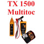 Kit Localizador Cabos + Testador Cabos Rj45 Tx1500 Multitoc