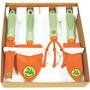 Kit Conjunto Para Jardim C/ Cabo Plástico 5 Pçs Tramontina