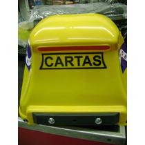 Caixa Cartas Correio Power Plastico Grade Amarelo
