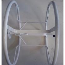 Suporte Enrolador Branco P/ Mangueira Até 30mts