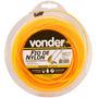 Fio De Nylon Para Roçadeira 2,4 Mm X 50 Me - Vonder