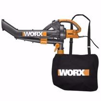 Soprador Aspirador Triturador Trivac 1500w Worx Wg500e 220 V