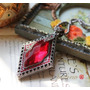 Colar Feminino Estilo Europeu Vintage Pedra Imitação Dimante