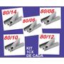Grampo 80 - Kit 06-08-10-12-14 1cx De Cada - Frete Gratis