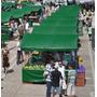 Lona Ck 300 Verde Impermeável Para Barraca De Feira 6x3 M