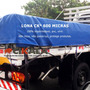 Lona Ck 600 Micras Grossa Pvc 100% Impermeavel 2,3x2,3 Mts