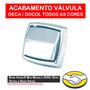 Acabamento Válvula Descarga Deca / Docol - Cromada