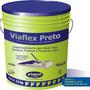 Impermeabilzante Para Lajes Viaflex Preto 3,6 L Com 4