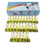 Brinco Amarelo Bovino 01 A 25 C/25 - Crisan