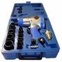 Kit Chave De Impacto Pneumática 1/2 Pol - Com 10 Soquetes