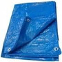 Lona 6 X 3 Azul Plastica Impermeavel Festa Telhado Multiusos