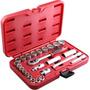 Jogo De Soquetes Multi Lock 3/8 6 A 22mm 25pcs - Robust
