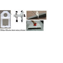 Nivelador De Porcelanato 2000 Clips 1.0mm+300 Cunhas+alicate