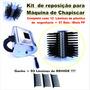 Kit Reposição P/máquina De Chapiscar (12 Lâminas + 01 Miolo)
