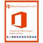 Office Professional Plus 2013 Para 3 Pc´s Online E Perpétua!
