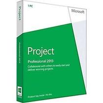 Project 2013 Professional 32/64 Bits Original Fpp Vitalicia