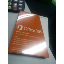 Office 365 Home Premium 5 Licenças Pcs Ou Mac