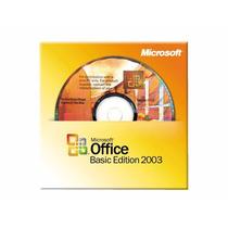 Microsoft Office Basic Edition 2003