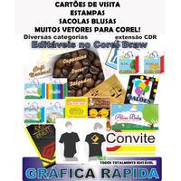 Vetores Editaveis Corel Draw Grafica Rapida
