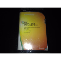 Microsoft Office Home And Student 2007 Full Fpp - Usado