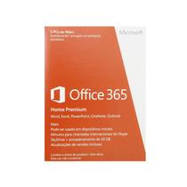 Office 365 Home Premium - Microsoft Lacrado 5 Pc 1ano
