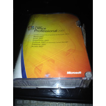 Microsoft Office Professional 2007 Full Fpp - Usado