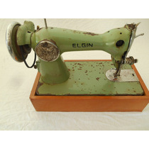 Maquina De Costura Singer Antiga Com Caixa De Madeira