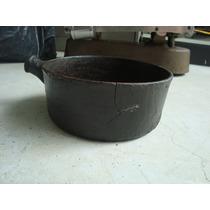 Antigo Panela De Ferro - Somente Decoração