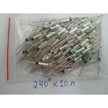 5 Fusível Térmico 240º 250v 10a - P/ Eletrodomésticos