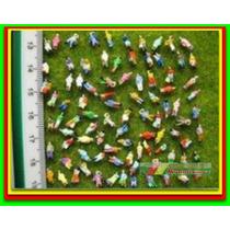 10 Figuras Humanas Escala 1:150 ~ 1:160 Plástico Maquete