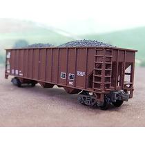 Escala N Atlas Vagão Hopper Aberto Com Minerio Com Embalagem