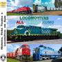 Dvd Locomotivas All, Brado, Rumo