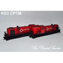 Locomotiva Escala Ho Rs-3 - Bachmann - Nova Com Dcc